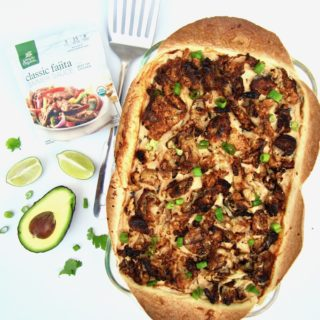 The Best Creamy Vegan Mexican Casserole (Gluten Free!)