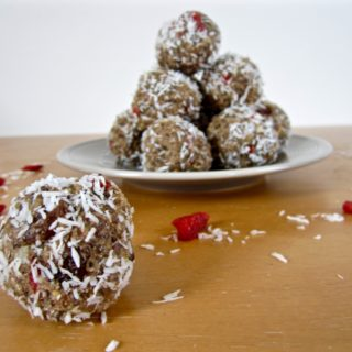 Tahini Energy Balls (sugar free + paleo + raw option)