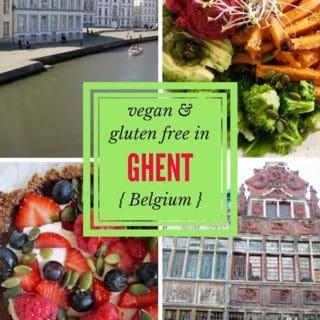 Vegan & Gluten free travel reviews in Ghent, Belgium | veganchickpea.com