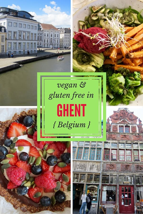 Vegan & Gluten free travel reviews in Ghent, Belgium | veganchickpea.com