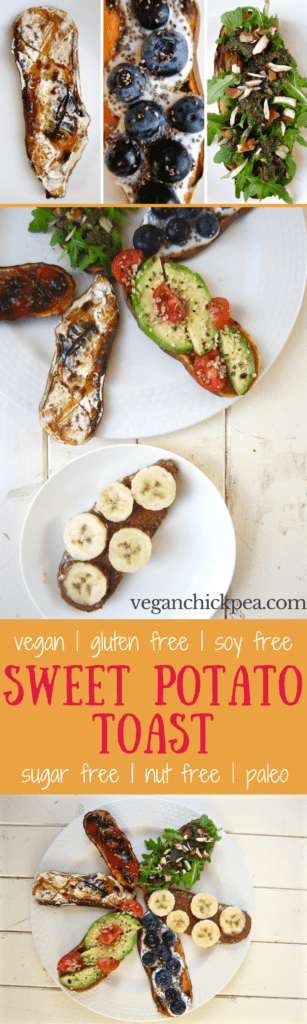 Sweet Potato Toasts are all the rage and here to stay - try them your way with infinite combinations of delicious toppings! {vegan, gluten free, paleo, soy free, nut free} | veganchickpea.com