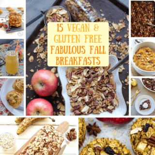 Recipe Roundup: 15 Vegan & Gluten Free Fabulous Fall Breakfasts!
