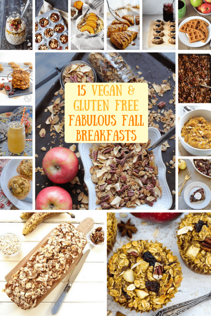 Recipe Roundup: 15 Vegan & Gluten Free Fabulous Fall Breakfasts