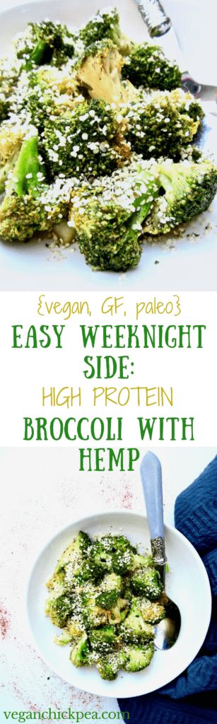 With 9 grams of protein and ready in 10 minutes, this healthy and easy side dish is perfect to pair with any weeknight meal! {vegan, gluten free, paleo, soy free} | veganchickpea.com