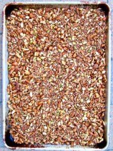 Healthy High Protein Grain Free Granola recipe - delicious sugar free, homemade and versatile granola for any diet! Vegan, gluten free, paleo. | veganchickpea.com