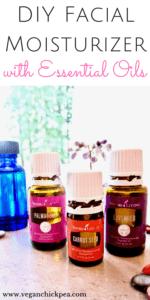 DIY Facial Moisturizer with Essential Oils