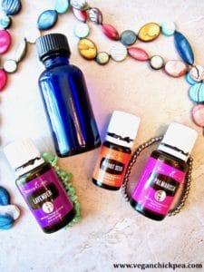 DIY Facial Moisturizer Essential Oils with Jewels