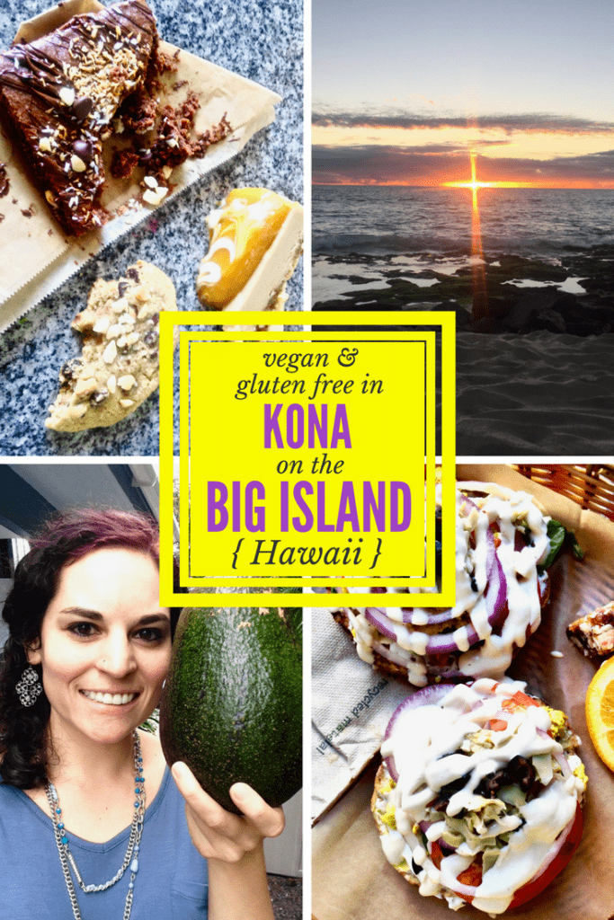 Gluten Free & Vegan Food, Tips + Travel Reviews in Kona on the Big Island, Hawaii. The restaurants, cafes and markets you need to check out! | www.veganchickpea.com