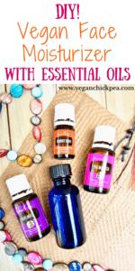 DIY Vegan Face Moisturizer with Essential Oils