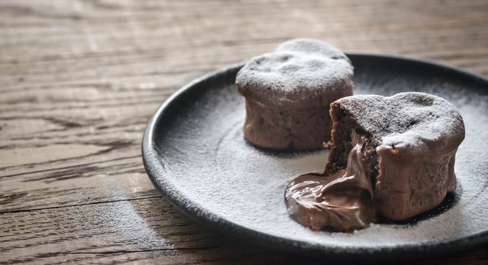 Gluten Free Chocolate Molten Cake Recipe