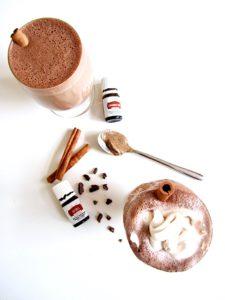 Hazelnut Spiced Hot Chocolate Vegan