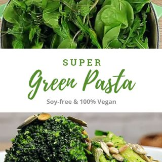 Super Green Pasta (Soy-Free + 100% Vegan)