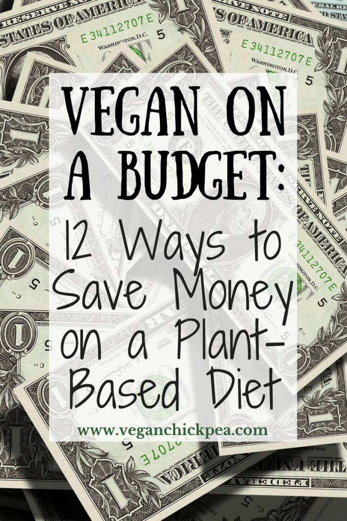 This post breaks down why it's NOT more expensive to eat a plant-based diet, plus shares 12 helpful tips for how to save money and eat vegan on budget.