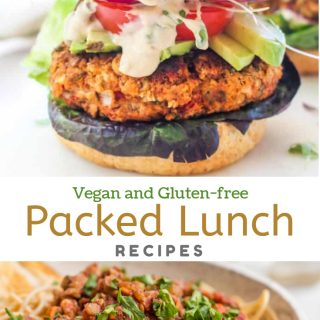 Vegan and Gluten-free Packed Lunch Recipes
