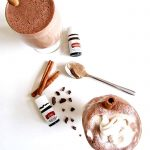 Healthy Hazelnut Spiced Hot Chocolate (With Essential Oils!)