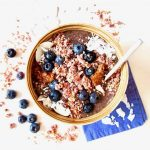 A Superfood List + Vegan Superfood Smoothie Bowl with Maca & Blueberries