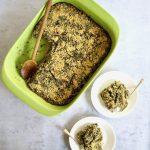 Spinach & Artichoke Quinoa Casserole (GF): A Healthy Plant Based Family Meal