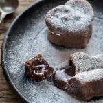 Easy Molten Chocolate Lava Cake (Gluten Free + Vegan!)
