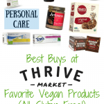 Best Buys at Thrive Market: Favorite Vegan Products (All Gluten Free!)