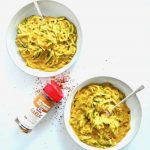 Healthy 'Mac & Cheese': 5-Ingredient Vegan Cheese Sauce + Zoodles