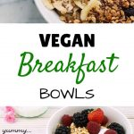 My 5 Favorite Vegan Breakfast Bowls
