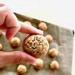 5-Minute No-Bake Peanut Butter Hemp Protein Bites (Keto + Sugar Free)