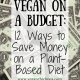 Vegan on a Budget: 12 Ways to Save Money on a Plant-Based Diet