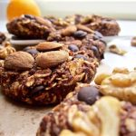 Healthy Chocolate Orange Oatmeal Cookies (no bake!)