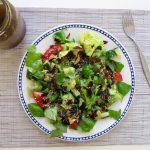 Smoky Summer Salad with Coconut Bacon