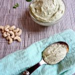 Quick & Easy Cashew Basil Cheese (Vegan)